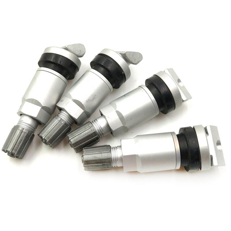 Aroham 4x алюминиевый TPMS клапан шины для LAND ROVER Крайслер Volvo сплав бескамерный клапан система контроля давления в шинах ремонт датчика