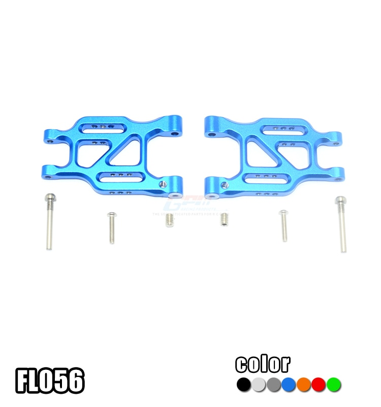 X-rider 1/8 FLAMINGO balancín trasero de aluminio-par
