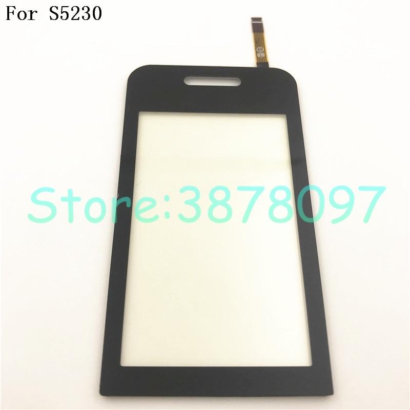 Original 3,0 pulgadas para Samsung S5230 pantalla táctil digitalizador Sensor reemplazo Original Panel táctil piezas de reparación