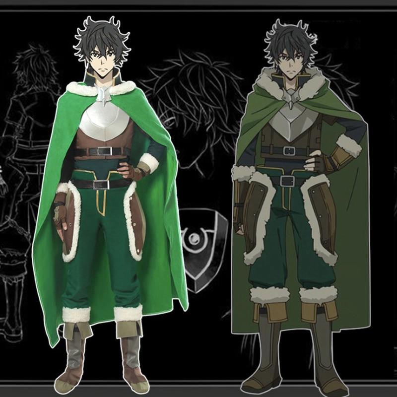 Anime a ascensão do herói escudo fantasias cosplay naofumi iwatani cosplay traje festa de halloween tate não yuusha não nariagari