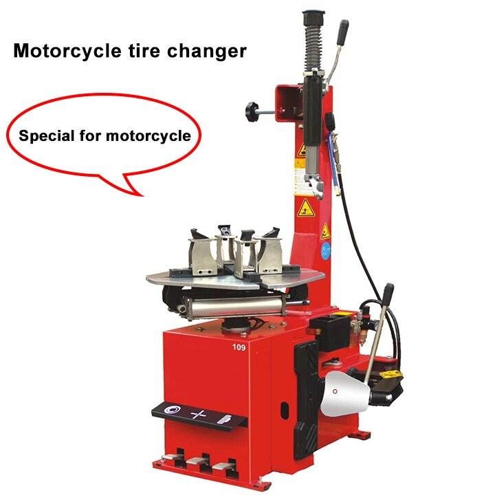 Machine réparation spécifique de pneus   Changeur de pneus semi-automatique pour moto Machine pour moteur