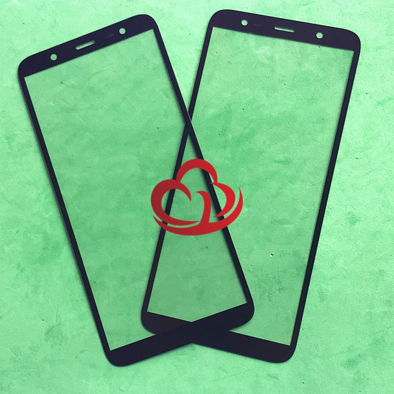 10 unids/lote reemplazo LCD pantalla táctil frontal de vidrio exterior lente para Samsung Galaxy J8 J810 J810F J810G J810DS ON8 8
