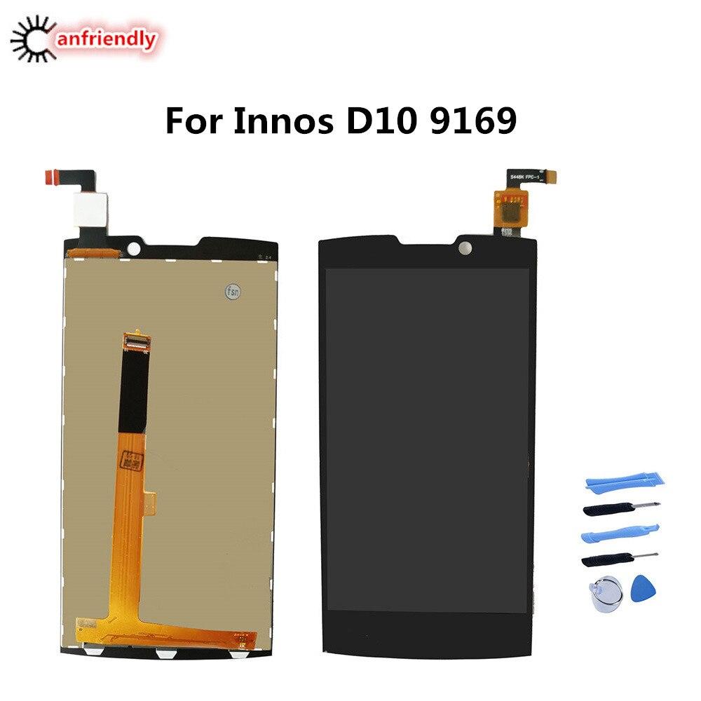 شاشة LCD تعمل باللمس ، جزء بديل لشاشة Highscreen boost 2 se innos D10 D 10 9169 ، لوحة زجاجية
