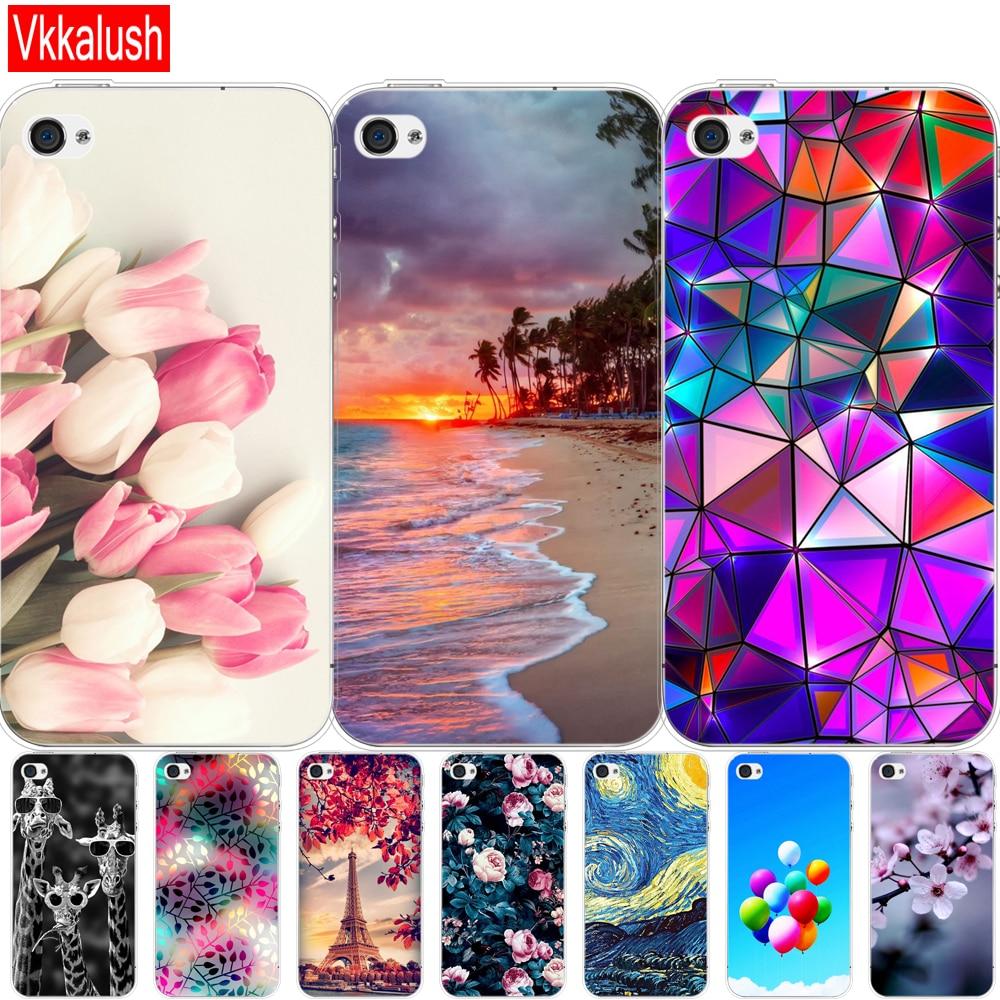 Para iphone 5s, 5 s, se, 4, carcasa de 4s, carcasa de tpu suave para iPhone 6 s, 6 s plus, Fundas coque, parachoques bonito
