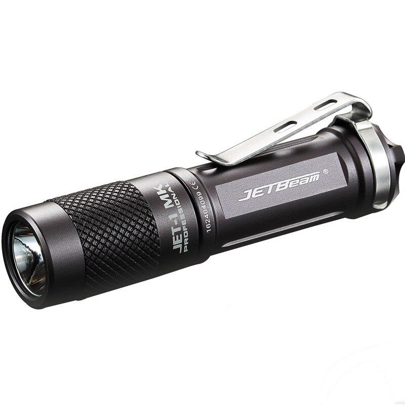 Linterna JETbeam JET-1 MK XP-G2 de 480 lúmenes mini Led resistente al agua, luces deportivas al aire libre para bicicleta, ciclismo, senderismo, luz P #