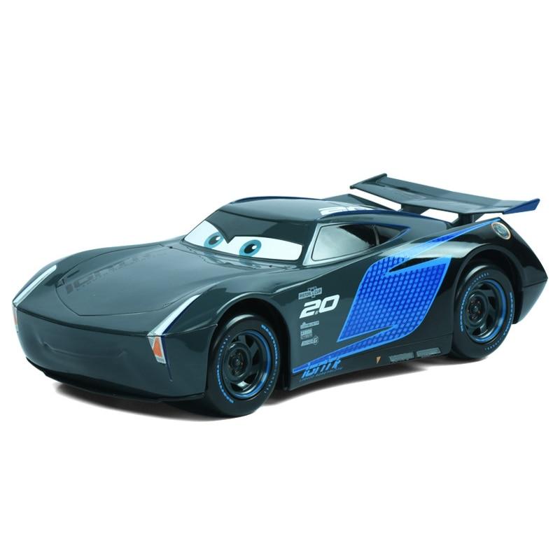Disney Pixar Cars Cars 3 22cm Lightning McQueen Jackson Storm Cruz Ramirez Pull Back Plastic Model Car Christmas Gifts For Kids