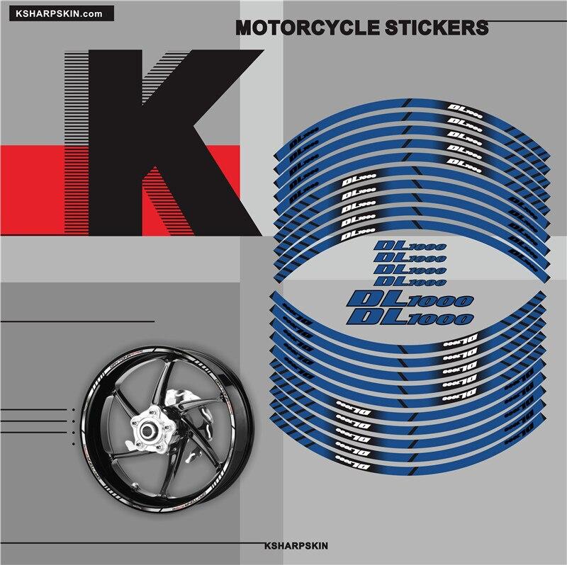 ¡Oferta! Cartel con motocicleta pegatina decorativa Borde Interior pegatina reflectante compatible con SUZUKI DL1000 DL 1000