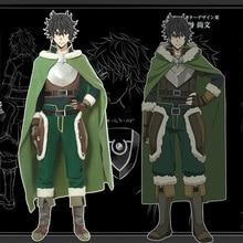 The Rising of the Shield Hero Cosplay Costume Naofumi Iwatani Costume Cosplay Shoes Cover Hero Cloak Men Halloween Party