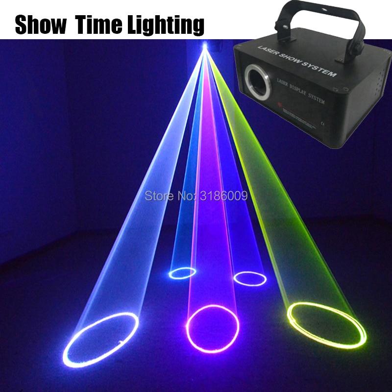 Dj disco láser 500mw línea de dibujos animados de escaneo láser animal Flor de baile Escáner Luz entretenimiento en casa del partido KTV mostrar láser