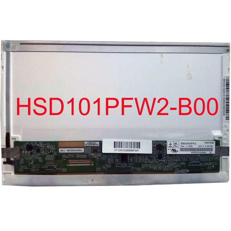 10,1 zoll lcd-matrix für hp mini 110-3600er laptop lcd display panel HSD101PFW2 b00 HSD101PFW2-b00