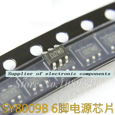 10 unids/lote SY8009B SY8009 SOT23-6 chip de Gestión Original nuevo