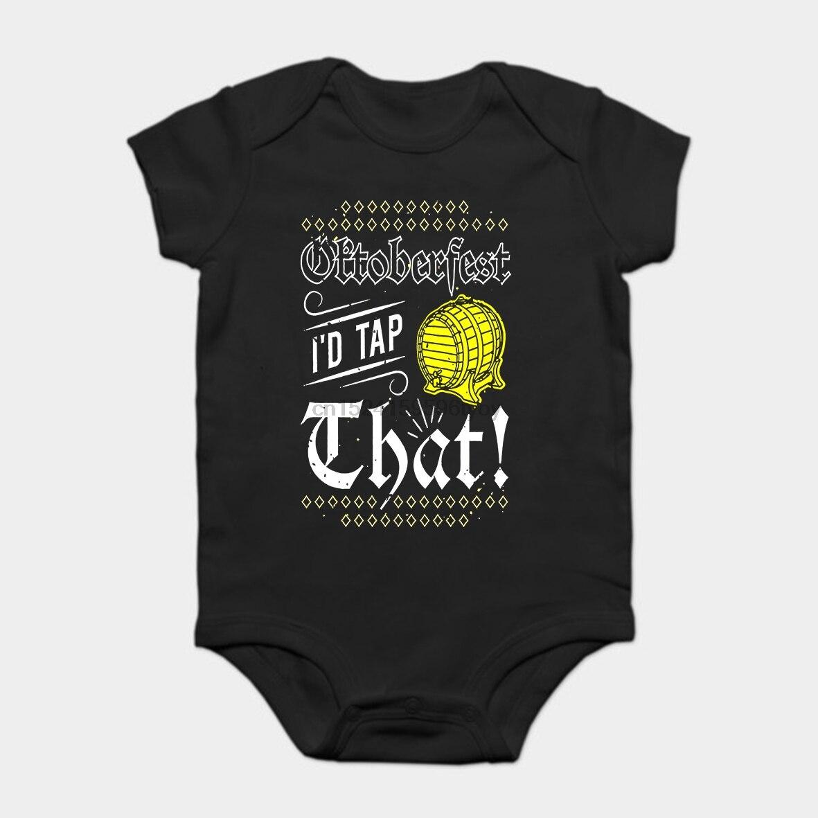 Bebé Onesie bebé Bodysuits chico camiseta Oktoberfest I d Tap que _ Octoberfest camiseta