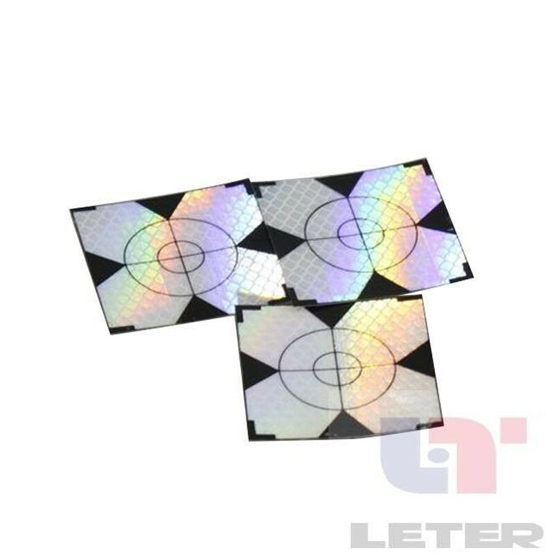 NEW  60pcs Reflector Sheet Reflective Tape Target Total Station