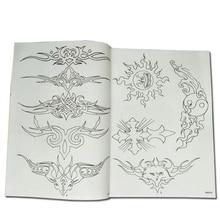 Tatouage Totem motif livre hommes et femmes mode petits tatouages Design Tatoo modèle Photo Album manuscrit broderie dessin