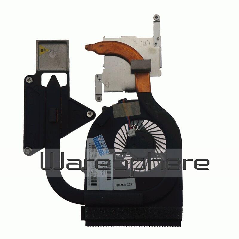 Новый оригинальный радиатор и вентилятор охлаждения для Lenovo IdeaPad Z570 Z570 V570A 60.4PA09.003 ноутбук