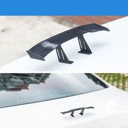 Auto styling spoiler auto mini asa traseira etiqueta para BYD E6 F3 F5 F6 Flyer G3 G6 L3 S6/ saturn Astra Aura ÍON Céu Outlook VUE