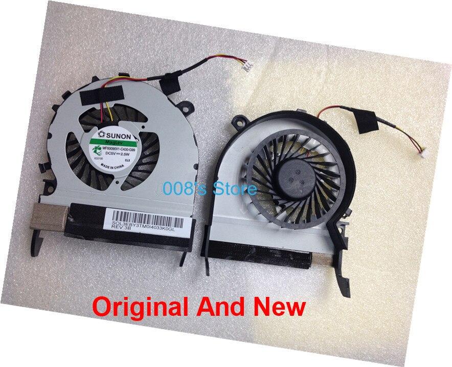 Новый охлаждающий вентилятор для ноутбука Toshiba Satellite L800 L800-C05B M800 M805 C800 C805 M840 для SUNON MF60090V1-C430-G99