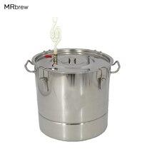 45L Stainless steel homebrew fermenters beer brewing fermenter liquor fermented wine fermented homebrew kettle