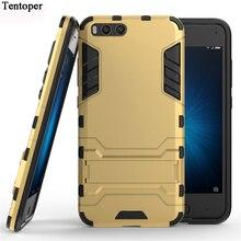 Pour Xiao mi mi 6 Coque Silicone TPU + PC béquille double hybride armure Coque arrière pour Xiao mi 6/Xiao mi 6 Coque de protection pour téléphone
