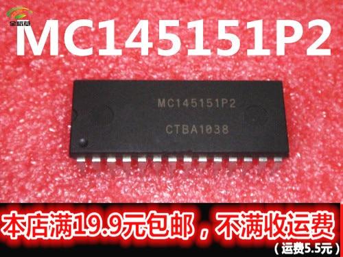 Free Shipping 10PCS MC145151P2 MC145151P MC145151 145151 DIP28 IC
