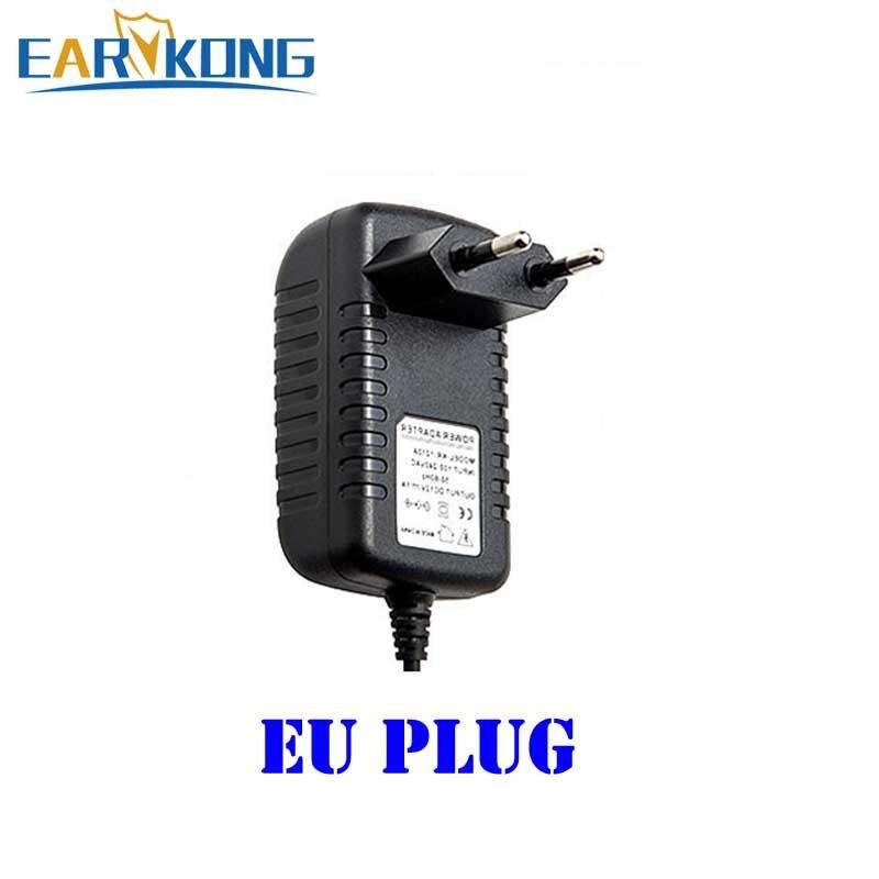 Adaptador de corriente de 12V para detector de haz de alarma con cable