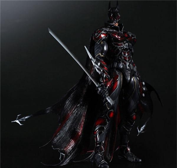 Figura de Hombre Murciélago, edición roja, Bruce Wayne, artes de juego, Kai Bat man, n. ° 1, 25 cm figuras de acción de PVC de regalo para chico