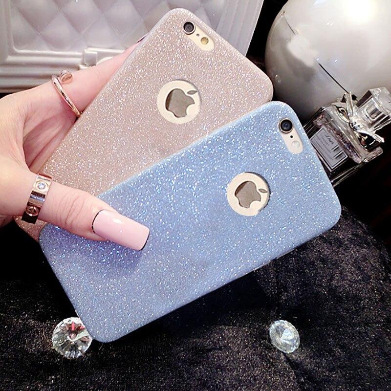 Étui souple en Silicone de luxe à paillettes pour iPhone 5 étui sur pare-chocs mince 5 S étui souple complet pour iPhone 5se SE 5 SE couverture arrière