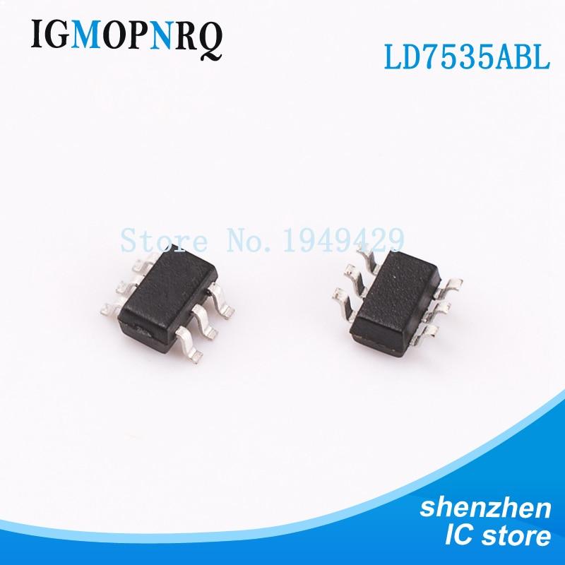 10 piezas LD7535ABL SOT23-6 LD7535 LD7535A nuevo original envío gratuito entrega rápida