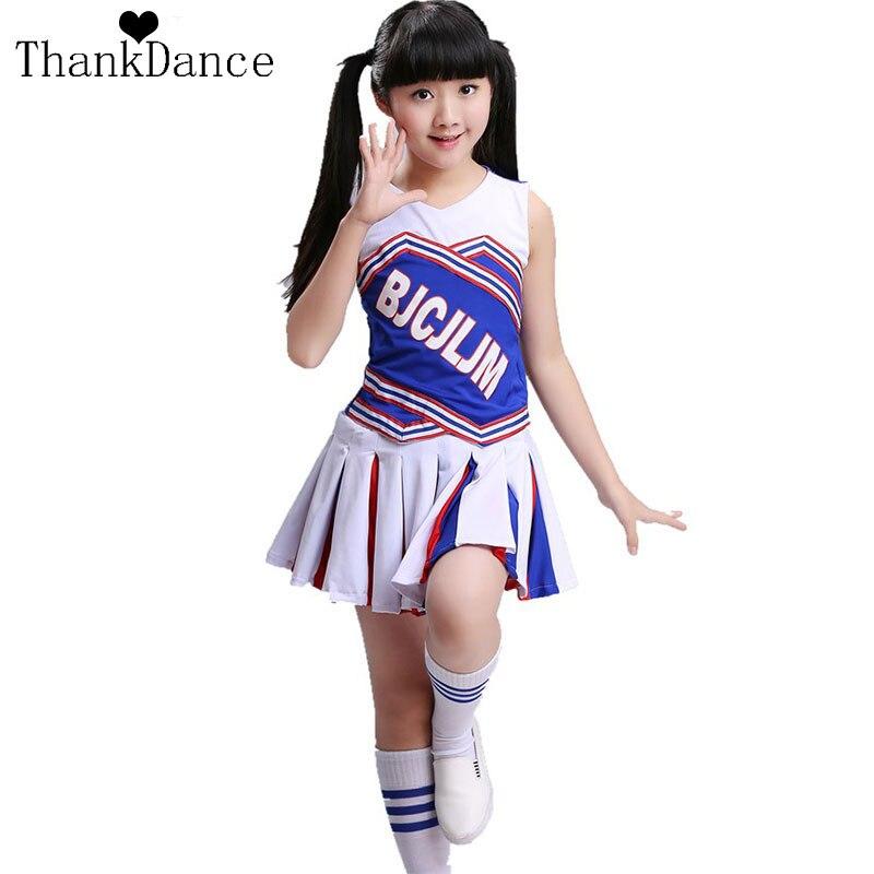 Conjunto de uniforme de escuela primaria para niña, uniformes de animadora para chica, disfraces de porristas para chico, UNIFORMES DE EQUIPO de animación de fútbol para niños