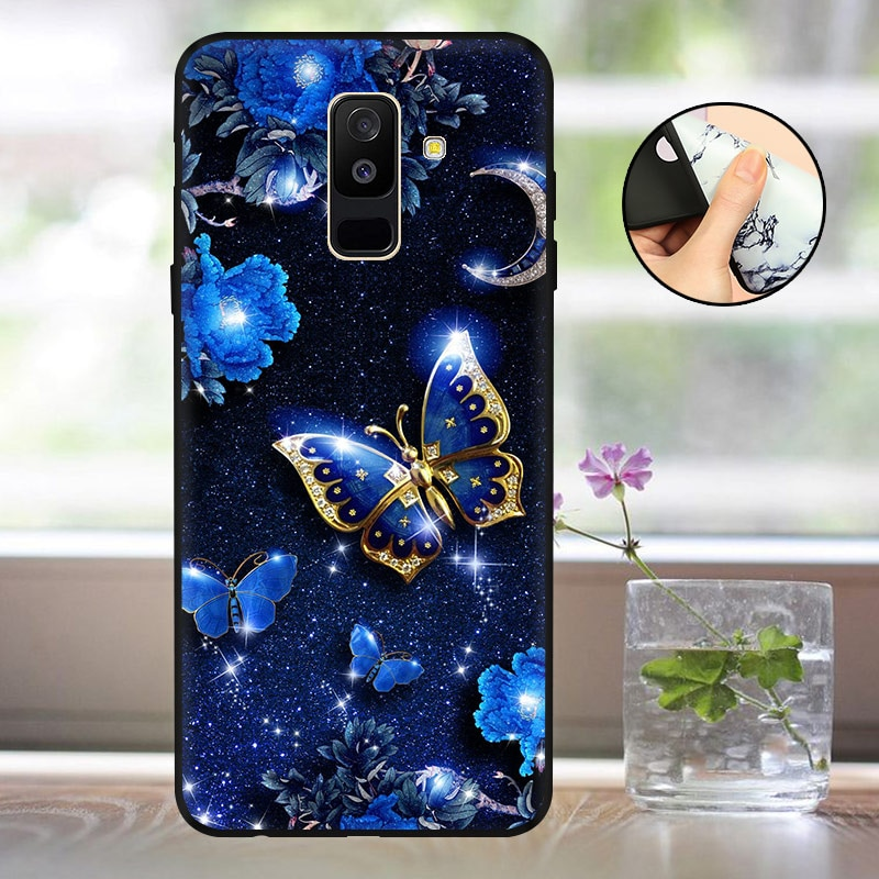 Case For Samsung Galaxy A6 2018 Phone Case Back Cover sFor Samsung A6 Plus 2018 Case Silicon A600 A6