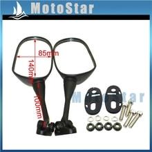 Rearview Mirror For Suzuki GSXR 750 GSX-R750 GSXR 750 GSX-R750 HYOSUNG GT125R GT250R GT650R GT650S Pit Dirt Motor Bike