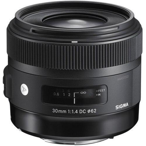 Sigma 30mm f/1,4 DC HSM lente para Canon 600D 650D 700D 50D 60D 70D cámaras DSLR