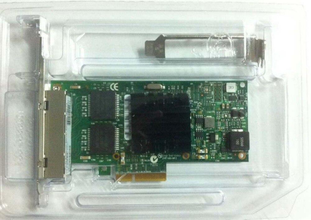 LODFIBER I350-T4V2 PCI-Express PCI-E Quatro Portas RJ45 Gigabit Server Adapter