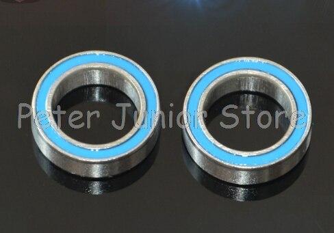 10 Uds 6700RS Doble tapa de sellado de goma miniatura rodamiento rígido de bolas 10*15*4mm