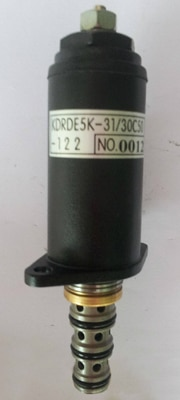 Fast free shipping! Kobelco Excavator Hydraulic pump solenoid valve 30C50-111 for Kobelco SK200-6E , Kobelco parts