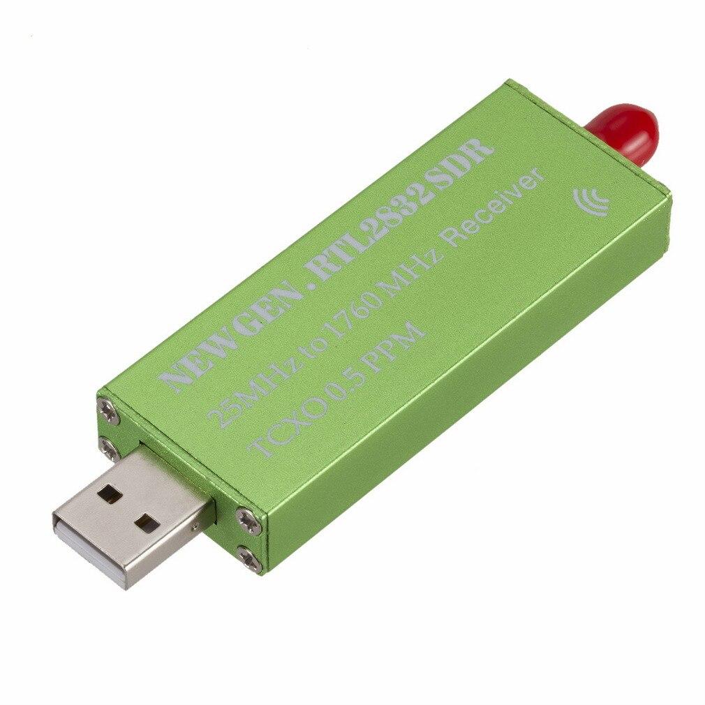 USB2.0 RTL 0,5 DEG TV escáner receptor PPM TCXO RTL2832U R820T2 sintonizador de TV Stick FM NFM DSB LSB SW Radio definido por Software