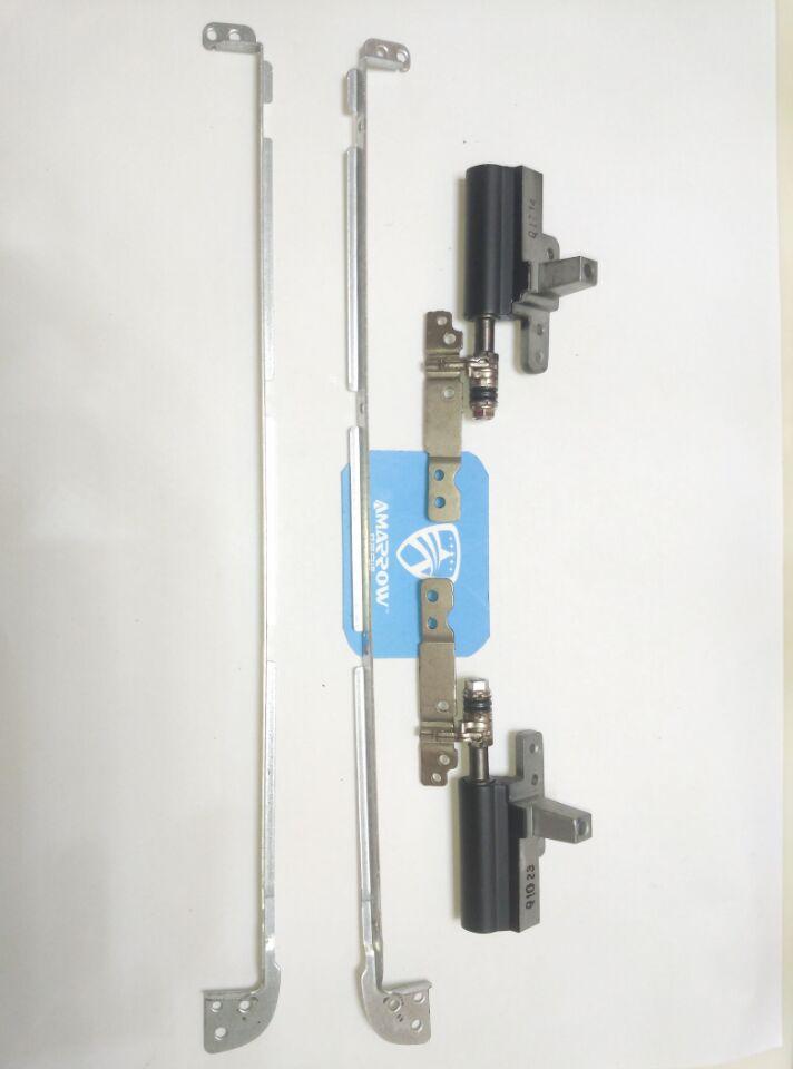 Original frete grátis para dell xps l701x l702x suporte de tela l e r e dobradiças