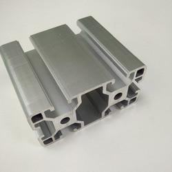 T slot De Corte De Precisão CNC moldura de Prata Anodizado 4080 Perfil De Alumínio Da Extrusão para Industrial Bancada & Exhibition booth