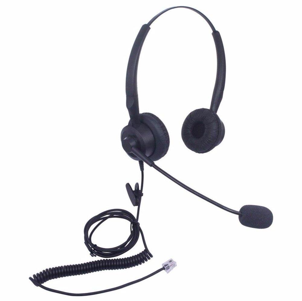 Wantek Binaural Call Center Fone de Ouvido para Telefone Cisco Unified IP Telefones 7931g 7940 7941 7942 7945 7960 7961 7962 7965 7970