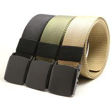 Automatic Army Tactical Belt Buckle Nylon Belt Male Mens Luxury Waist Designer Belts Men High Quality Strap
