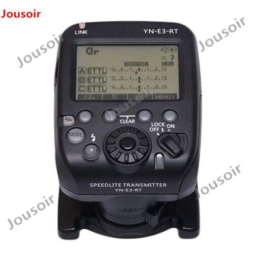 Yongnuo YN-E3-RT TTL disparador de flash radiocontrolado Speedlite transmisor controlador como ST-E3-RT para C 600EX-RT YONGNUO YN600EX-RT II CD50