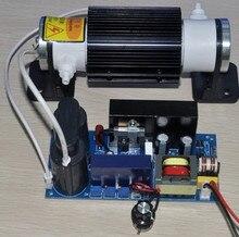 Livraison gratuite tube en céramique 5 G/H réglable générateur dozone machine à lozone raccords réglable haute tension alimentation