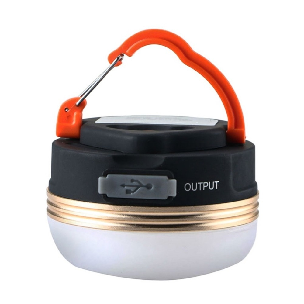 Luz de Camping magnética portátil impermeable superbrillante 3w 5 modos LED camping luz de noche lámpara de emergencia al aire libre