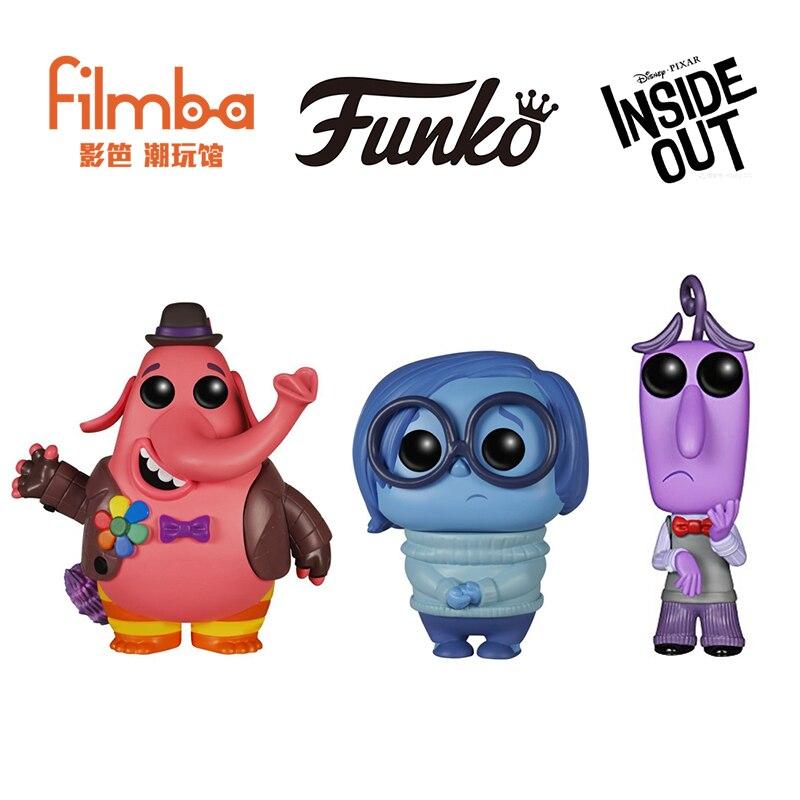FUNKO POP официальный наизнанку-грусть, Bing Bong, радость Виниловая фигурка Коллекционная модель игрушки с оригинальной коробкой