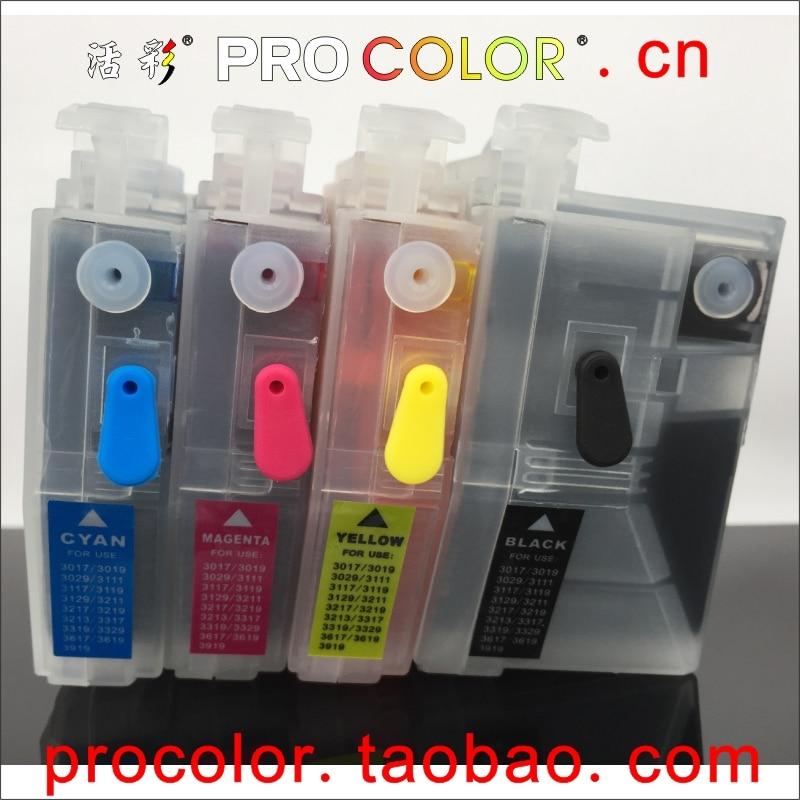 LC3319 XL LC3317 recarga do cartucho de tinta completo para O IRMÃO MFCJ5330DW MFCJ5730DW MFCJ6530DW MFCJ6930DW MFCJ6730DW J6930DW com chip