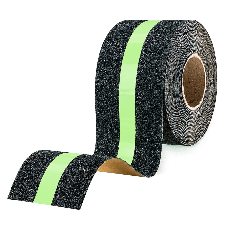 5*500cm Night Luminous Anti-Slip Stair Grip Tape Matte Safety Warning Sandpaper Stickers Indoor & Outdoor Stair Grip Tape Roll