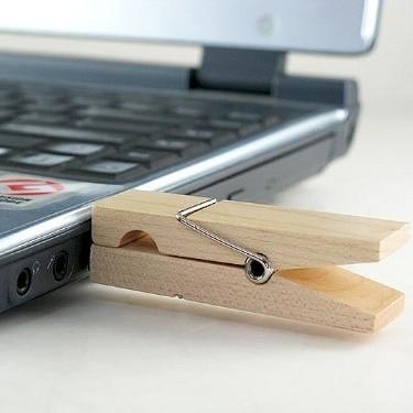 Gift Creative Wooden Clip USB Flash Drive 2TB 1TB Memory Stick Usb Stick Flash Memory Card  Pendrive Pen Drive 64GB 32GB 16GB