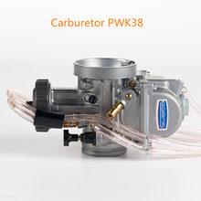 Racing Motorcycle Universal PWK 38mm PWK AIR ATTAQUANT Pour KEIHI Carburetor Pour TRX250R CR250 Carburador