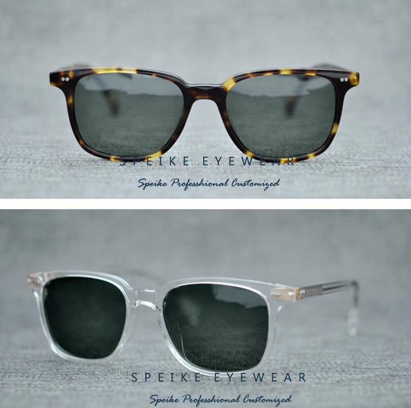 Gafas de sol profesionales Speiko personalizadas para miopía, gafas de sol de estilo cuadrado 5316, gafas de sol para conducir, gafas UV400