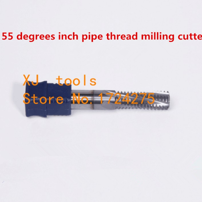 1 Uds BSP 1/4-19 * D8/BSPT 1/4-19 * D8 pulgadas cortador de rosca de tubo de aleación, cortador de rosca de 55 grados con revestimiento TIALN